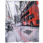 London Bus shower curtain 180 x 180 cm