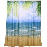 Beach shower curtain 180 x 180 cm
