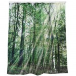Forest shower curtain 180 x 180 cm