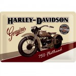 Harley Davidson Genuine small metal plate
