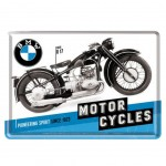 BMW Motor Cycles small metal plate