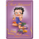 Betty Boop Sweet Small metal plate