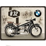 BMW Large metal plate Deco
