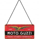 Moto Guzzi metal collection hanging plate