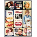 Kellogg's Small steel fridge magnets