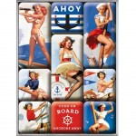 Pin-up Small steel fridge magnets