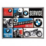 BMW Motorcycles sinces 1923 Small steel fridge magnets