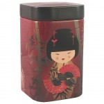 Little Geisha Red small Tea Box