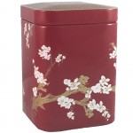 Cherry blossoms Red Tea Box