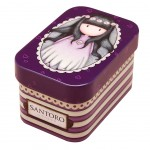 Small Tins box Gorjuss - Oops a Daisy