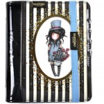 Gorjuss Classic Stripe Organiser Journal - The Hatter