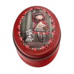 Small Tins box Gorjuss -  Little Red Riding Hood