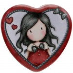 Gorjuss Heart Shaped Tin - My Story