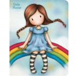 Gorjuss Daily Planner Rainbow Heaven