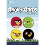 Angry Birds 4 badges set