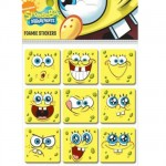 The Sponge Bob little stickers