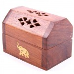 Elephant wood incense cone holder