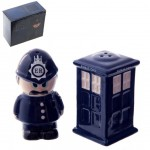 English Police Salt and Pepper
