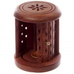Wooden Incense Holder Box
