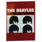 A Hard Day s Night metal magnet