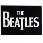Beatles Logo metal magnet