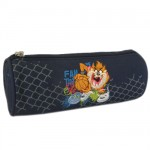 Taz round pencil case