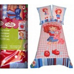 Strawberry Shortcake Fitted Sheet 90 x 190 cm