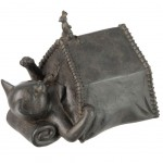 Deco Cat and Mouse Statue