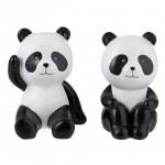 Small Pandas bookends