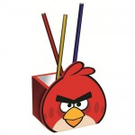 Angry Birds pencil pot