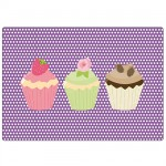 3 cupcakes mouse pad by Cbkreation