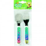 SpongeBob toddler flatware set