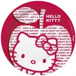 Hello Kitty Set of 10 paper plates