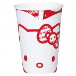 Hello Kitty Set of 10 paper cups
