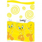 Tweety paper tablecover