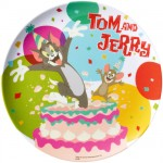 Melamine Plate Tom and Jerry