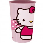 Hello Kitty plastic glass