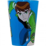 Ben 10 plastic glass