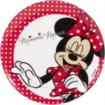 Minnie Mouse plastic plate
