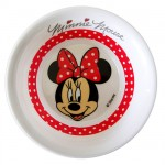 Minnie Mouse melamine bowl