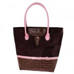 Hello trapeze bag Chocolate Knot by Camomilla