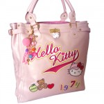 Hello Kitty large bag flat High Street by Camomilla