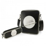 Vespa black and white Tablet bag