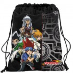 Beyblade Black and Silver swimming bag