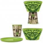 Star Wars - Yoda Stackable Lunch Set