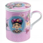 Frida Mug with Infuser - Pink