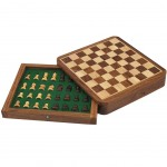Little Wooden Magnetic Chess Games