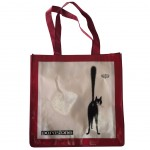 Bag for shopping The Cats of Dubout 40 x 40 cm