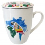 Mug with infuser filter - Parrot