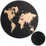 Set of 4 Mappemonde coasters